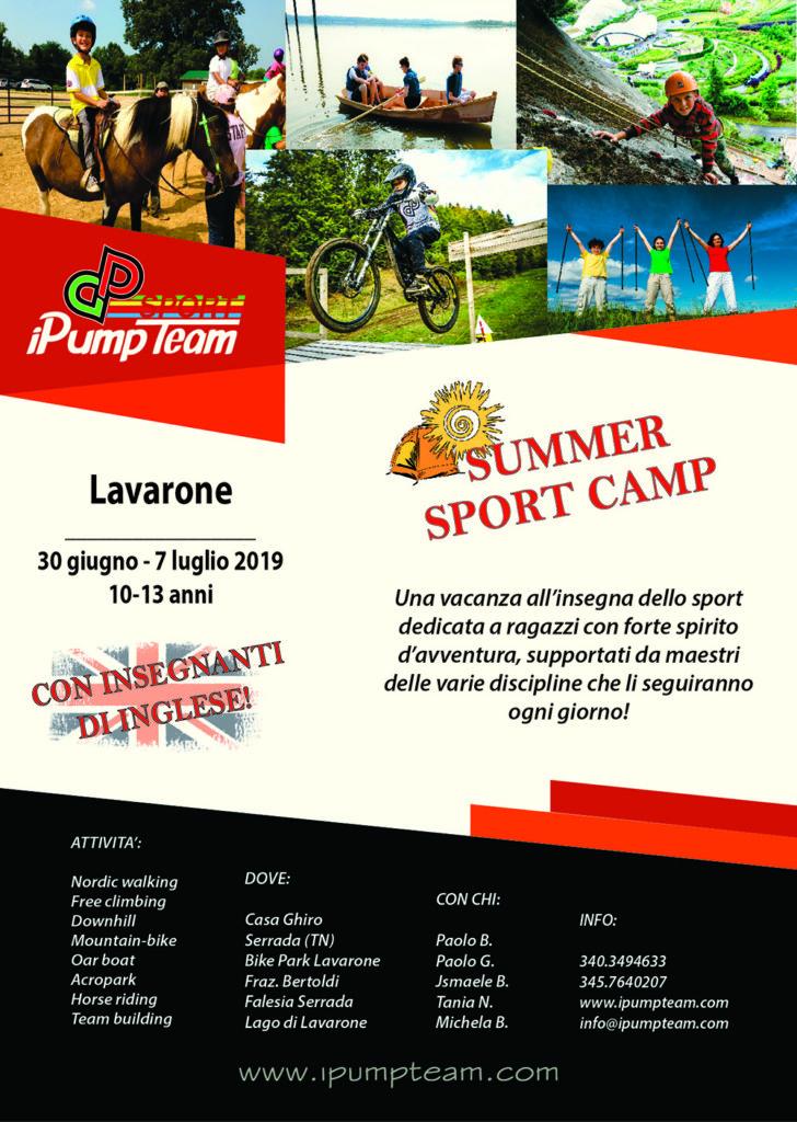 camp estivo sportivo