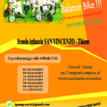 Nuovo laboratorio di balance-bike a Thiene